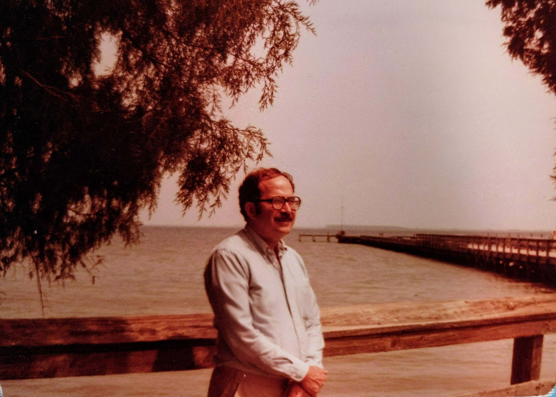 Ted Greenfeld circa 1980s at the Chesapeake Bay